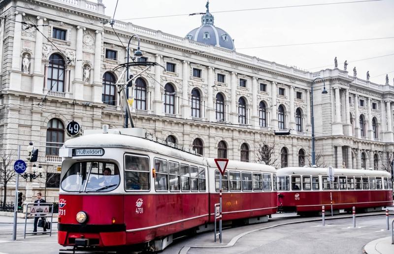 Прогулка по Вене на трамвае
