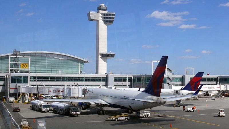 видеокамеры аэропорта Нью Джерси