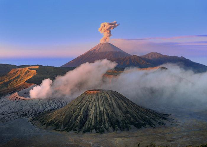 Самые известные вулканы мира