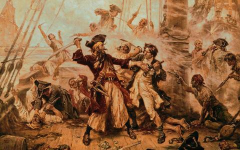 История пирата Черная борода