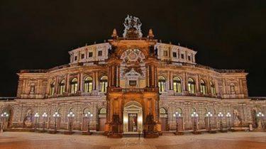Светский бал в Дрездене