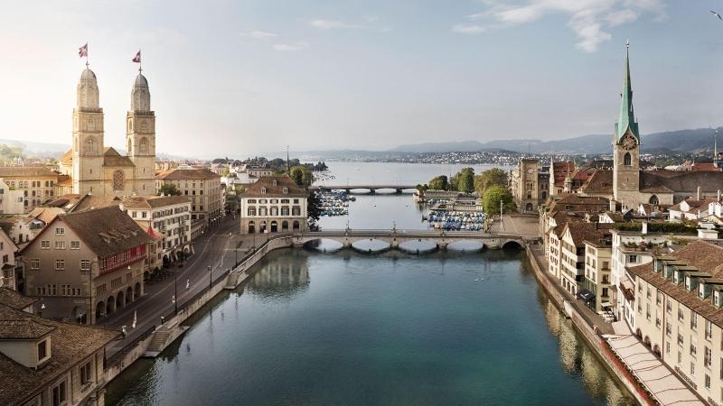 Швейцария - достопримечательности Цюриха